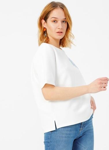 Fabrika Comfort Bluz Beyaz